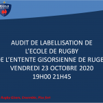 CLUB – CLUB – CLUB – CLUB AUDIT DE LABELLISATION ECOLE DE RUGBY