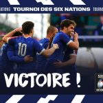 TOURNOI DES SIX NATIONS LE XV DE FRANCE VS L'IRLANDE